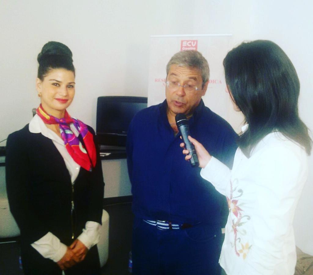 Avvocato Francesca Paola Quartararo e Totò Cuffaro